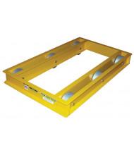 """Vestil ODMD-3660-10 Open-Deck 10,000 lb. 36"""" x 60"""" Machinery Dolly"""