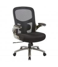 Office Star Pro-Line II Big & Tall 400 lb. Mesh Mid-Back Executive Office Chair, Titanium