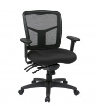 Office Star Pro-Line II Multifunction ProGrid Mesh-Back Fabric Mid-Back Managers Chair