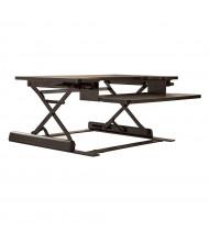 Office Star Pro-Line II Prado Sit-Stand Converter Desk Riser (Shown in Black)