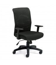Offices to Go Mesh-Back Fabric High-Back Managers Chair