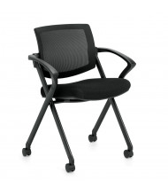 Offices to Go Air Mesh Low-Back Nesting Folding Chair