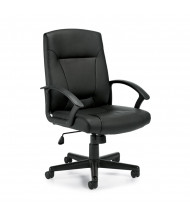 Offices to Go OTG11776B Luxhide Mid-Back Computer Office Chair