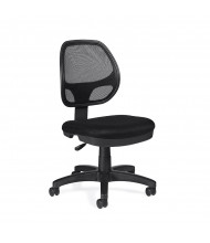 Offices to Go OTG11642B Mesh-Back Fabric Mid-Back Task Chair