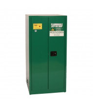 Eagle PEST6010 Self Close Two Door Pesticides Safety Cabinet, 60 Gallons, Green