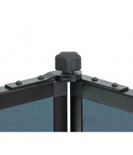 """Screenflex Panelocks for 3-Panel 66"""" W and 69"""" W Room Dividers"""