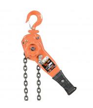 Vestil 5 ft. to 20 ft. 1500 to 6000 lb Load Professional Level Hoist, Disc Brake