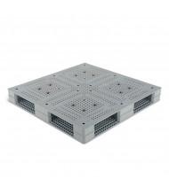 "Vestil 48"" W x 48"" L 6600 lb Capacity Standard Plastic Pallet"