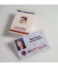 "Akiles 7 Mil Luggage Card Size (no slot) 2-1/2"" x 4-1/4"" Laminating Pouches (500 pcs)"
