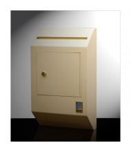 Protex WDB-110 313 Cubic Inch Letter Size Wall Drop Box with Tubular Key