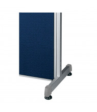 "OFM RiZe Room Divider Supports for 63"" H Dividers (Example of Use)"