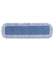 "Rubbermaid 18"" L Microfiber Mop Head, Blue, Pack of 6"