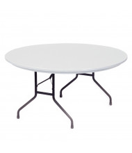 """Correll Heavy-Duty 60"""" Round Folding Table (Shown in Granite)"""