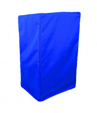 """Amplivox 48"""" H x 32"""" W x 22"""" D Protective Lectern Cover, Royal Blue"""