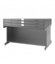 """Safco 4975 Open Base 20"""" H for Safco 4994 Flat File(Shown in Grey)"""