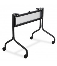 "Safco 2030BL Impromptu Mobile Black Base for 48"" W Flip-Top Training Table"