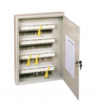 Buddy Products 100 Key Tag Slot Key Cabinet, Putty 1100-6