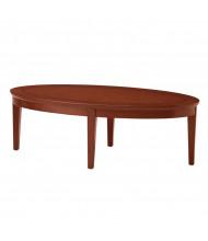 """Mayline Sorrento SCFT 48"""" W Oval Coffee Table (Bourbon Cherry)"""
