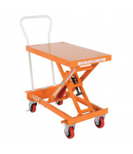 "Vestil Self-Elevating Auto-Hite Steel Lift Table 400 lb Load 20"" X 32"" Platform"