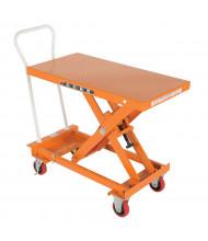 "Vestil Self-Elevating Auto-Hite Steel Lift Table 800 lb Load 20"" X 40"" Platform"