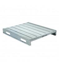 "Vestil 48"" W x 40"" L 4000 lb Capacity Solid Steel Deck Pallet"