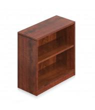 Offices to Go SL30BC 2-Shelf Bookcase (Shown in Dark Cherry)