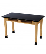 "NPS 30"" H Book Compartment Phenolic Science Lab Tables"