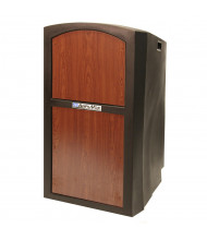 Amplivox Pinacle Portable Multimedia Hard Plastic Lecterns (Standard, Without Sound System)
