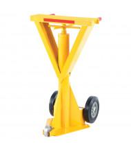 """Vestil 40"""" to 51"""" Spin Top Beam Trailer Stabilizing Jack Stand 100,000 lb Static Load"""