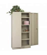 """Office Star 36"""" W x 18"""" D x 72"""" H Storage Cabinet (Shown in Putty)"""