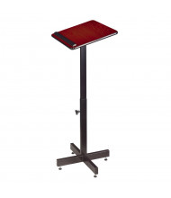 Oklahoma Sound Adjustable Height Speaker Stand (Shown in Mahogany)