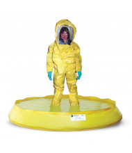 Eagle T8602D SpillNest Decon Spill Containment Pool with Drain, 100 Gallons (example of use)
