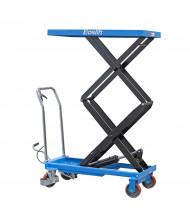 "Eoslift 770 lb Load 62.4"" Lift Hydraulic Dual Scissor Lift Table 21"" x 40"""