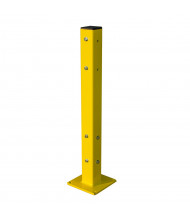 Bluff Steel Corner Tube Posts for Tuff Guard Safety Rails