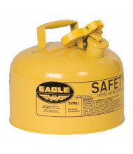 Eagle Type I 2 Gallon Galvanized Steel Metal Safety Can (yellow)