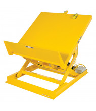 """Vestil Powered Lift and Tilt 2000 lb Load 54"""" x 48"""" Workstation Tables"""
