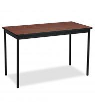 Barricks Utility Table (Shown in Walnut)