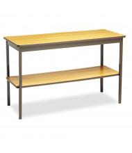 Barricks Utility Table (Shown in Oak)