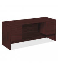 "HON 10500 60"" W Double Pedestal Credenza Office Desk"