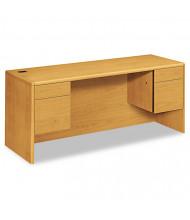 "HON 10700 72"" W Double Pedestal Credenza Office Desk"