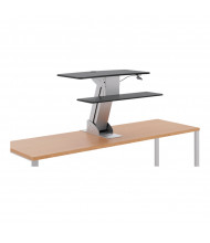 HON Directional S1100 Sit-Stand Converter Desk Mount without Monitor Arm