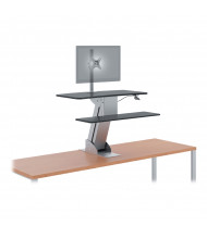 HON Directional S1101 Single Monitor Sit-Stand Converter Desk Mount