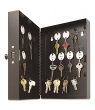 SteelMaster 28 Key Hook-Style Combination Lock Black Key Cabinet 201202804