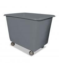 "Royal Basket Trucks 8-Bushel 64-Gallon Poly Truck, 800 Lb Load, 4"" Casters"