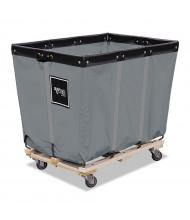 """Royal Basket Trucks 16-Bushel 128-Gallon Permanent Liner Truck, 600 Lb Load, 3"""" Casters"""