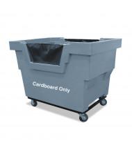 "Royal Basket Trucks Cardboard Only Mail Truck, 1000 Lb Load, 4"" Casters"