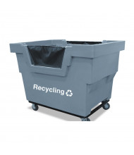 """Royal Basket Trucks Recycling Mail Truck, 1000 Lb Load, 4"""" Casters"""