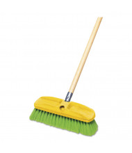 """Rubbermaid Commercial 10"""" Synthetic-Fill Wash Brush, Green"""