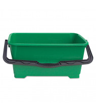 """Unger 11"""" H x 25"""" W Pro Bucket 6 gal., Green"""
