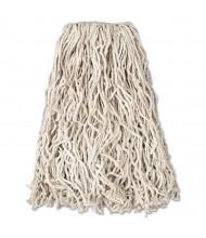 Rubbermaid Value-Pro 20 oz. Cut-End Cotton Mop, White, Pack of 12